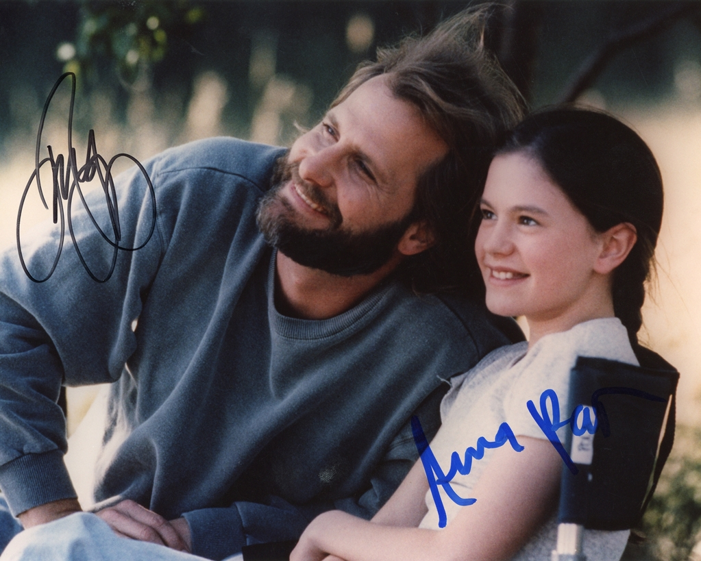 Jeff Daniels & Anna Paquin Signed Photo