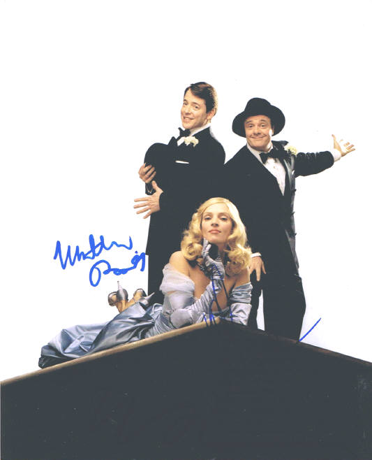 The Producers Cast Signed Photo