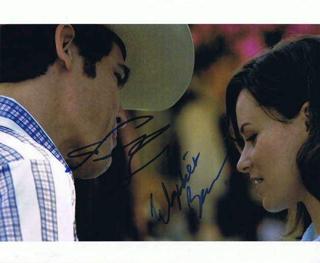 Josh Brolin and Elizabeth Banks Signed Photo