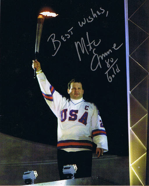 Mike Eruzione Signed Photo