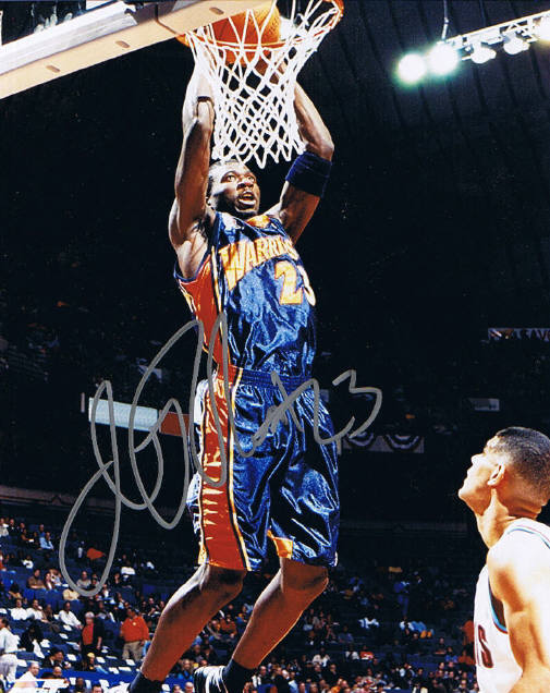 Jason Richardson Signed Photo