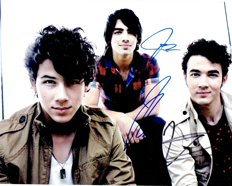The Jonas Brothers Signed Photo