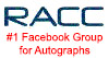 Join the Real Autograph Collectors Club (RACC) on Facebook Groups!